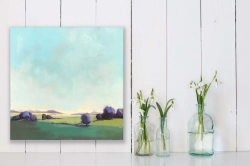 """""""Shelburne Farms #10"""" 24"""" x 24"""" oil on canvas 