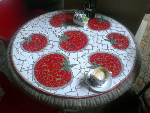 Original Hand made furniture   Tables by Julian Phillips Mosaic