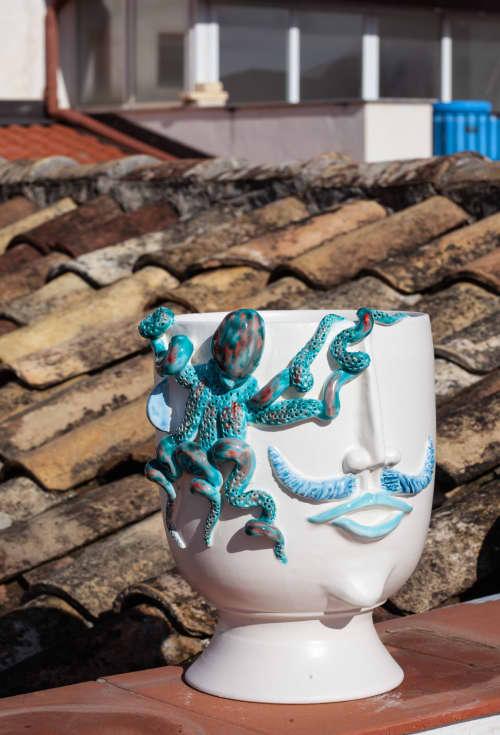 Vases & Vessels by Patrizia Italiano seen at Creator's Studio - Salvo seller of octopus