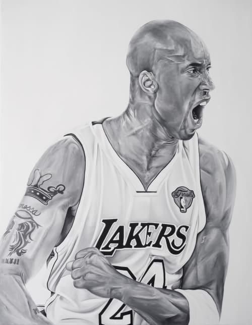 Kobe | Paintings by Ricardo Rodriguez Cosme