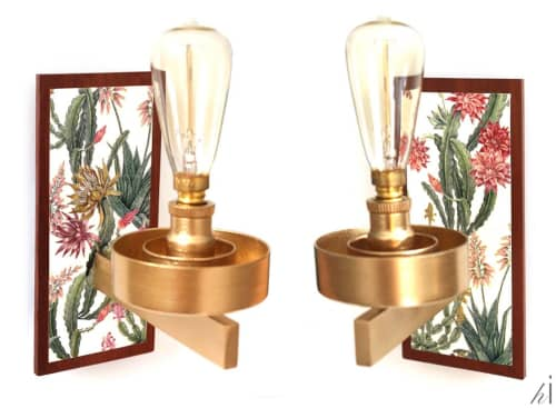 Sconces by Habitat Improver - Furniture Restyle and Applied Arts seen at Creator's Studio, Lisbon - Biophilia Fix