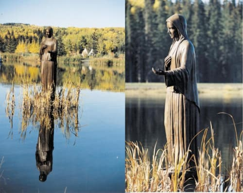 Our Lady Queen of Peace   Public Sculptures by Don Begg / Studio West Bronze Foundry & Art Gallery