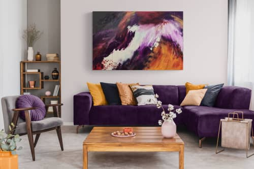 Paintings by Jen Sterling seen at Creator's Studio, Annapolis - Rising on the Wings of Hope