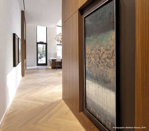 Return Away, 2018   Paintings by Matthew Thomas   Park Terrace Hotel in New York