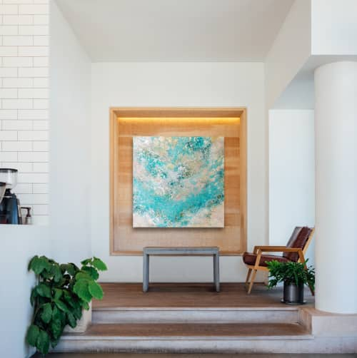 Wall Hangings by Chieko Shimizu Fujioka seen at Creator's Studio, Santa Clara - S O A K