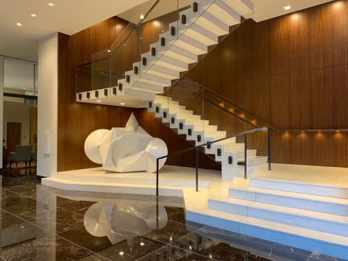 Sculptures by Jeremy Thomas Studio at Trammell Crow Center, Dallas - Crown Blender White II