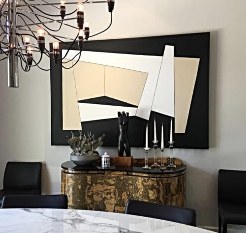 Paintings by Zackery Tyler seen at Private Residence, Dallas - Abstract Art