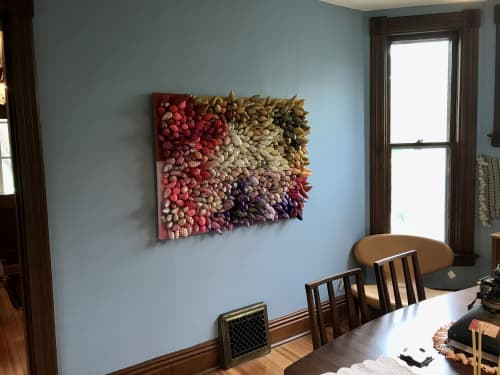Spiky Painting | Art & Wall Decor by Ali Hval