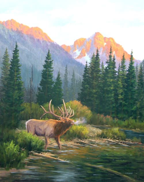Paintings by Fred Choate Fine Art - Challenge