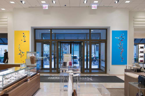 The Song is You and Tune Up | Paintings by Michael Finnegan | Neiman Marcus in Chicago