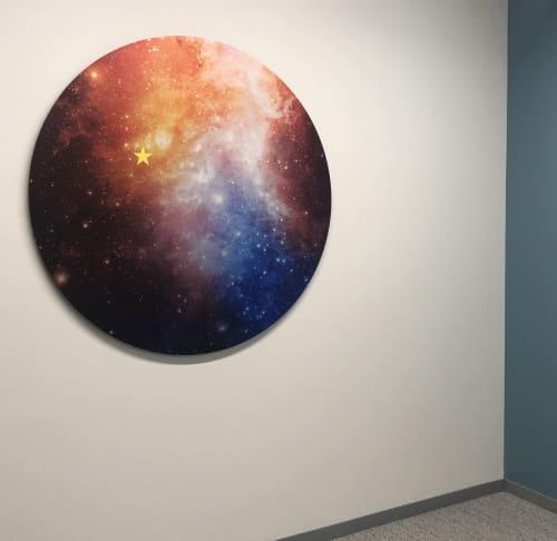 """Art & Wall Decor by ANTLRE - Hannah Sitzer seen at Google RWC SEA6, Redwood City - """"Sagan"""""""