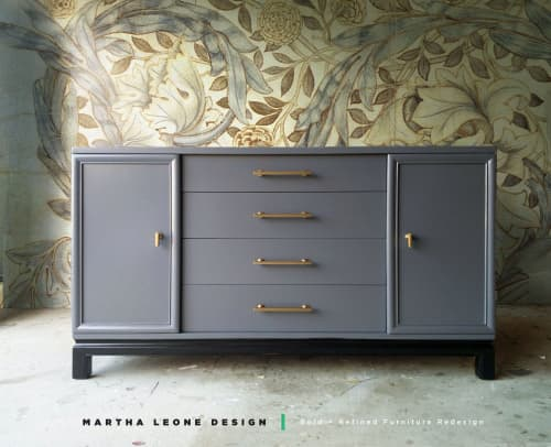 Furniture by Martha Leone Design seen at Private Residence - Credenza
