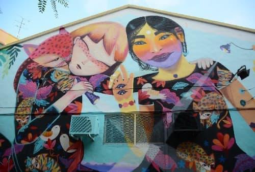 Reinventa el teu Barri   Street Murals by Julieta XLF