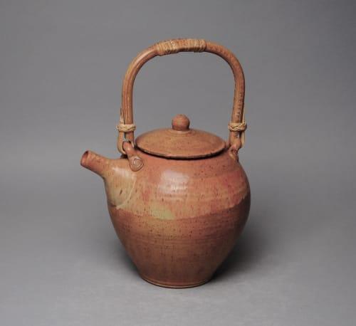 Tableware by John McCoy Pottery seen at Creator's Studio, West Palm Beach - Teapot