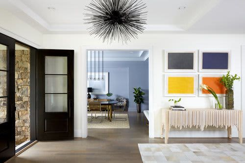 Interior Design by Zoe Feldman Design seen at Private Residence - Modern Potomac House Interior Design