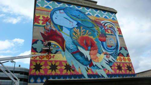 Mediterránea   Street Murals by Julieta XLF