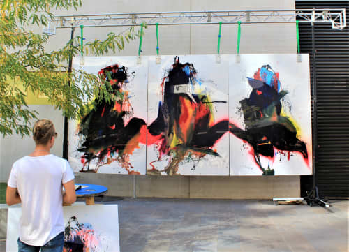 Paintings by Tommy Balogh Art at Canberra, Canberra - The Three Disciples