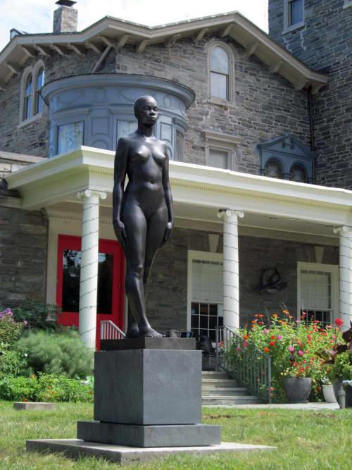 Sankofa Kore | Public Sculptures by Christopher Smith | Woodmere Art Museum in Philadelphia