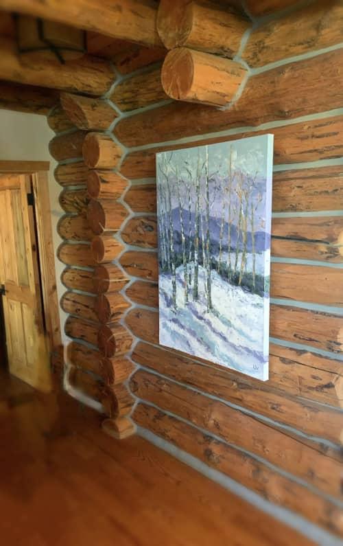 Winter in Telluride   Paintings by Lelia Davis