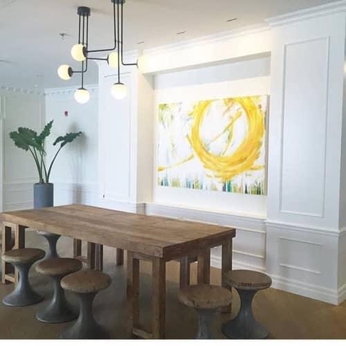 Paintings by Meredith Bingham seen at The Walper Hotel, Kitchener - Glow