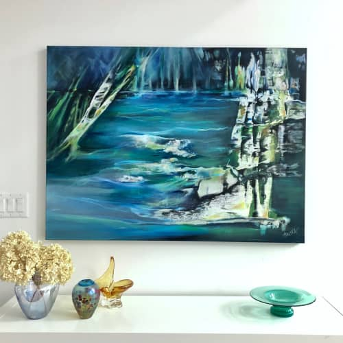 """""""Imagine The Journey"""" - 36""""x48"""" 