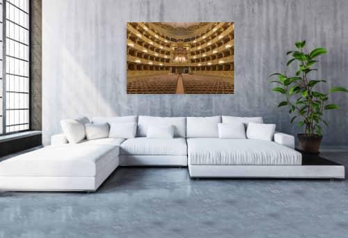 Photography by Richard Silver Photo seen at Creator's Studio, Boynton Beach - National Theatre of Sao Carlos