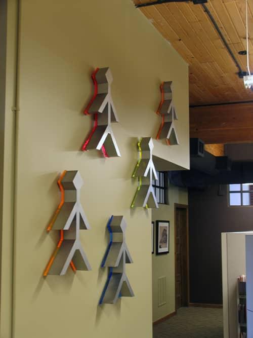 Sculptures by Craig Robb seen at Davis & Ceriani, Denver - Sequence
