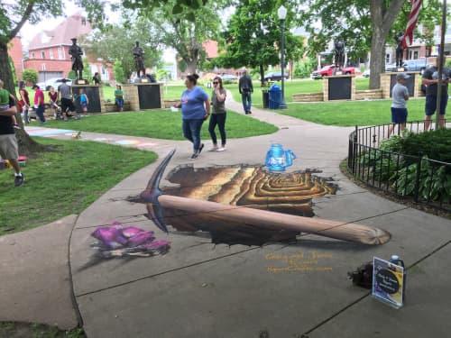 Street Murals by Rogers Create seen at Platteville, Platteville - Street art festival