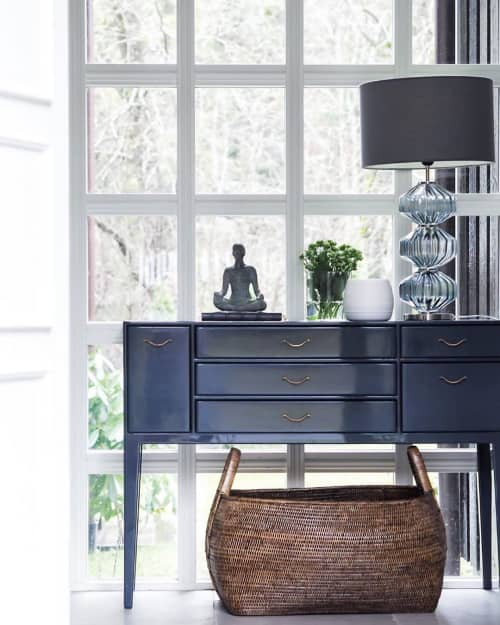 Furniture by Chelsea Textiles seen at Private Residence, Oslo - Century Modern Server