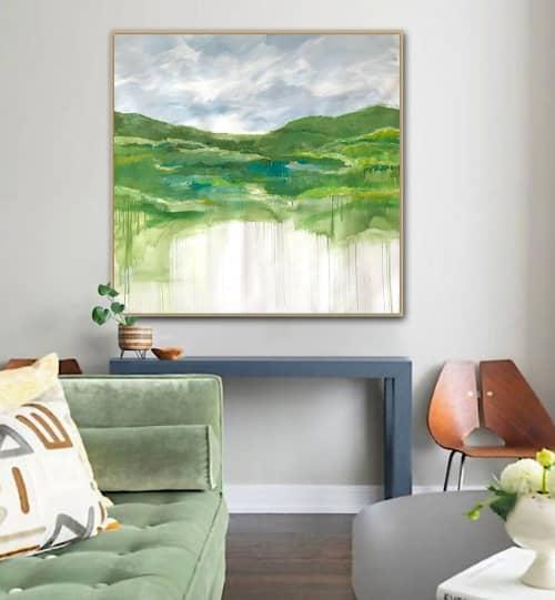 'HiGHLANDS' original landscape painting by Linnea Heide | Paintings by Linnea Heide contemporary fine art