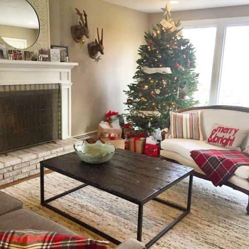 Reclaimed Wood Coffee Table By Brace, Reclaimed Wood Furniture Philadelphia