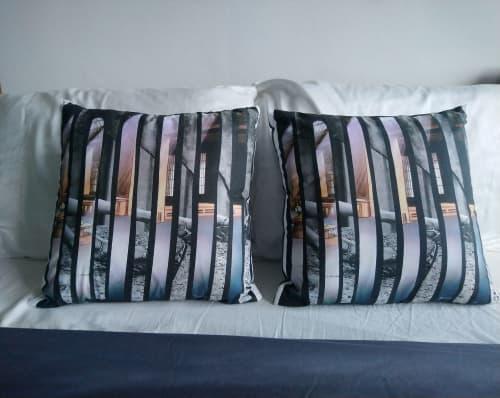 Shafts of Light Pillows | Pillows by LNozickArt/Design