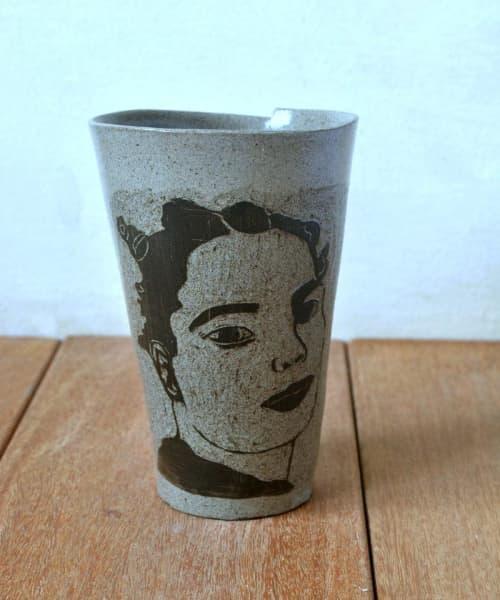 Ceramic Folded Coffee Mug | Cups by ShellyClayspot