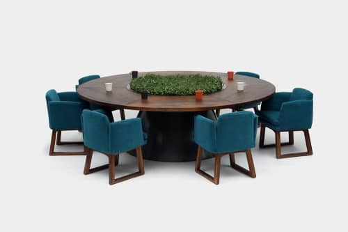 Tables by ARTLESS seen at 1041 N Formosa Ave, West Hollywood - T2 Table