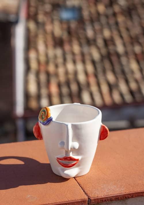 Cups by Patrizia Italiano seen at Creator's Studio - Agostino Mug Seller Of Snails