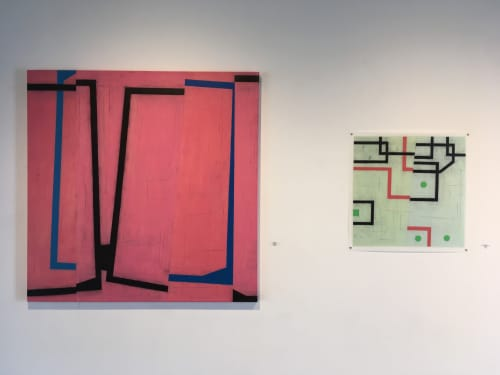 Jump Cut E2 | Paintings by Steven Baris | Space Gallery in Denver