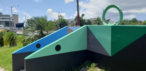 Snakes in the Grass   Murals by Spear Torres