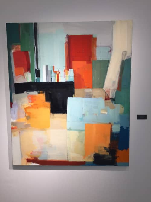 Paintings by Peri Schwartz at Neiman Marcus, Garden City - Peri Schwartz