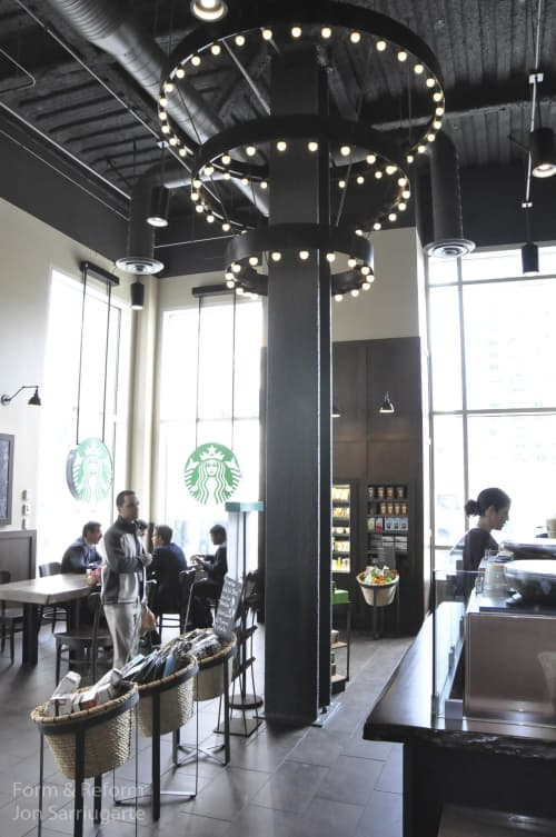Chandeliers by Form & Reform seen at Starbucks, San Francisco - Lighting Fixture