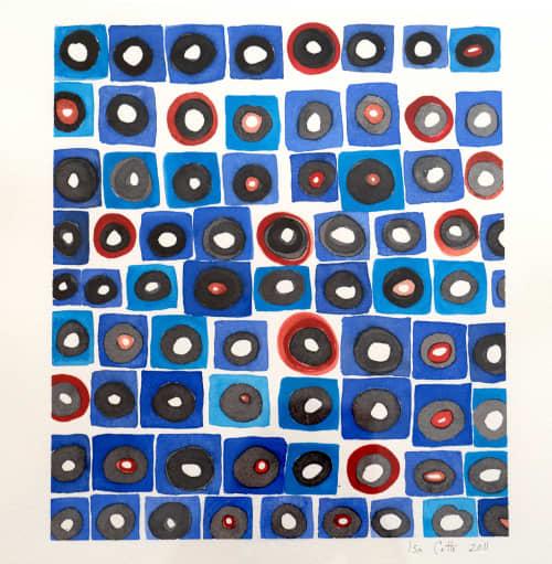 Paintings by ISA CATTO STUDIO - Radius III