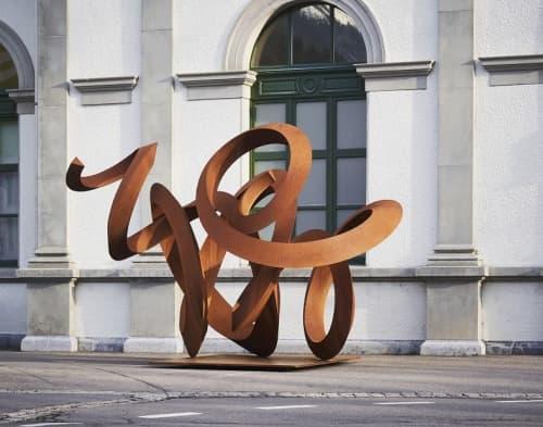 Public Sculptures by Pieter Obels - Oneindige deining
