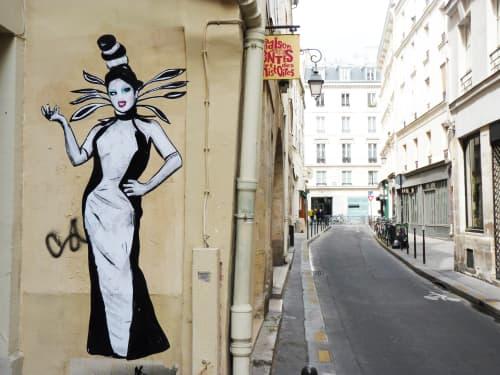 Ben de la Crème | Street Murals by Suriani Art | 3e Arrondissement, Paris, France in Paris