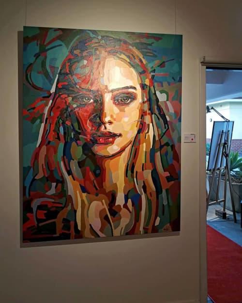 Paintings by Noemi Safir Artist - Contrast