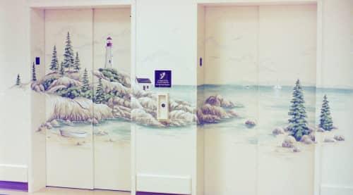 Hospital murals | Murals by Sheila Rae Van Delft