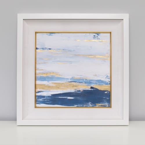 Paintings by Julia Contacessi Fine Art seen at Creator's Studio, Easton - Salt Wash No. 2 - Embellished Print