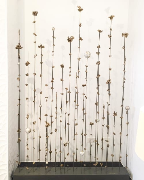 """""""Connected Between Space And Time 2""""   Sculptures by Jennyfer Stratman"""
