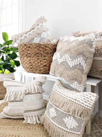 Harmony Pillow Cover | Pillows by Coastal Boho Studio