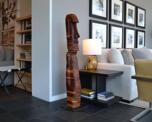 Easter Island 71 | Sculptures by Lutz Hornischer - Sculptures & Wood Art | Room & Board in San Francisco