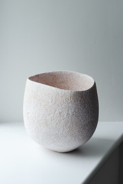 Sculptures by Yasha Butler - Custom Pergamon Vessel - Lithic Collection
