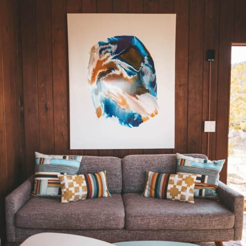 Paintings by Shelly Floyd at Rockbound Oasis Retreat, Joshua Tree - Abstract Painting